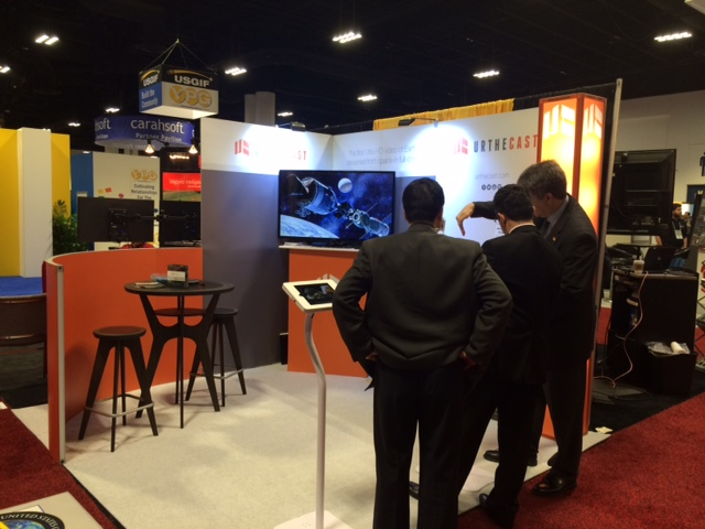GEOINT booth